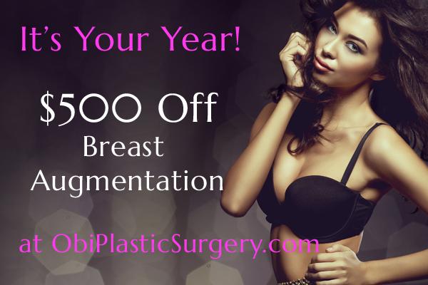 $500 Off Breast Augmentation at Obi Plastic Surgery!