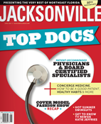 Dr. Lewis J. Obi was presented in Jacksonville TOP DOCS Magazine in June 2014