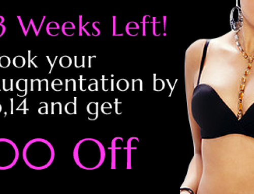 Save $500 on Scarless Breast Augmentation Until February 14th!