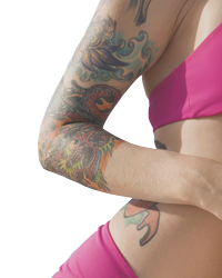 Color Tattoo Removal in Jacksonville
