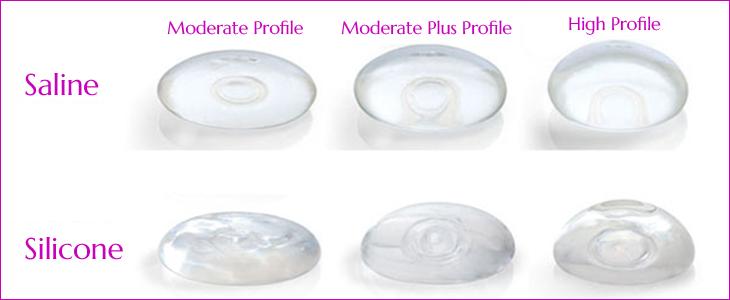 augmentation breast saline