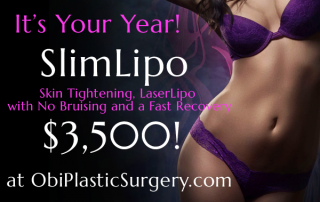 SlimLipo only $3,500 for a limited time at Obi Plastic Surgery