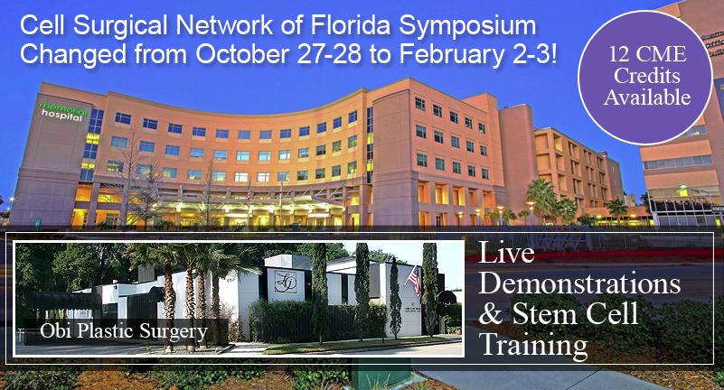 2017 Stem Cell Symposium in Jacksonville Florida