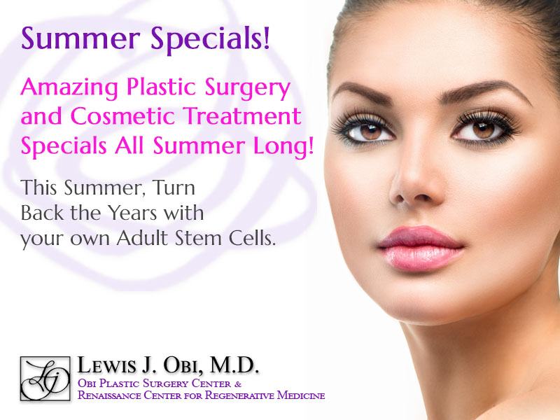 Obi Plastic Surgery Summer Plastic Surgery Specials