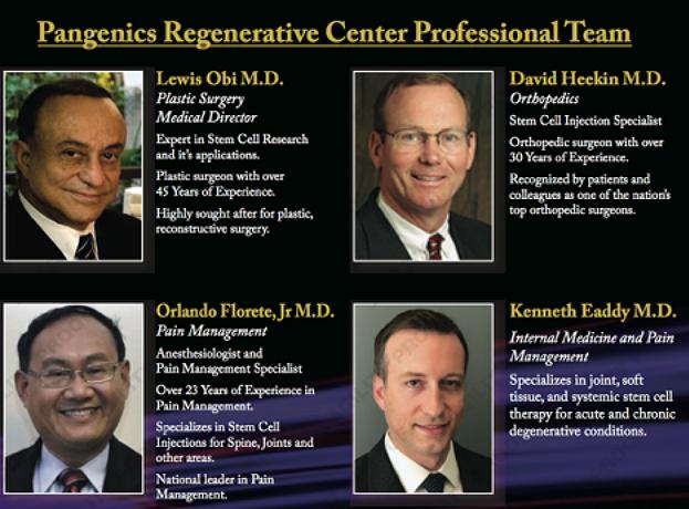 Pangenics Regenerative Medical Staff