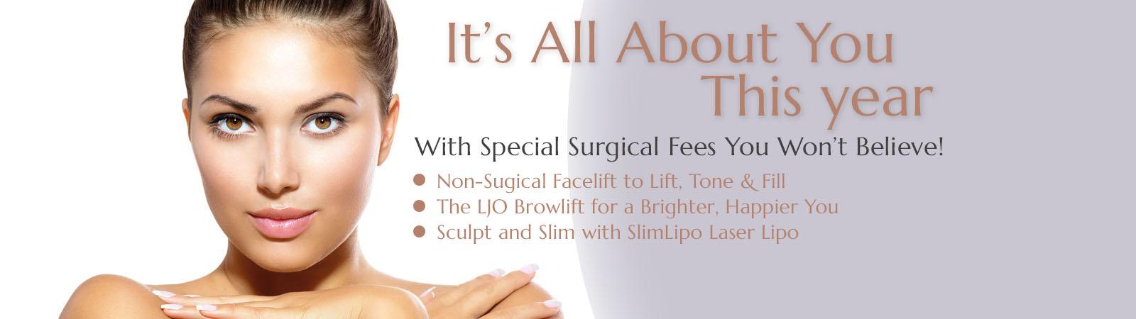 January - February Plastic Surgery Specials