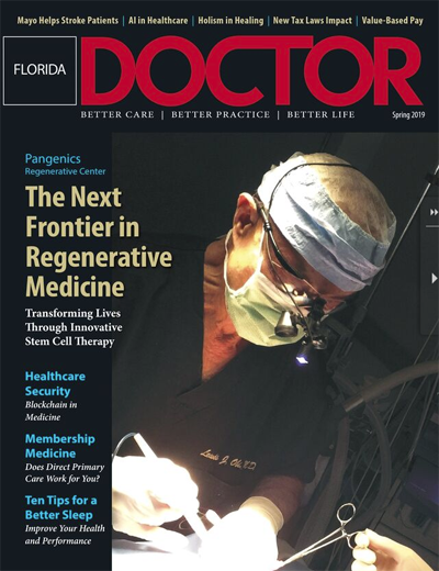 Florida Doctor Spring 2019 Cover Story