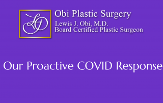 Obi Plastic Surgery COVID Policies and Precautions
