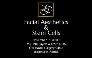 Facial Aesthetics and Stem Cells